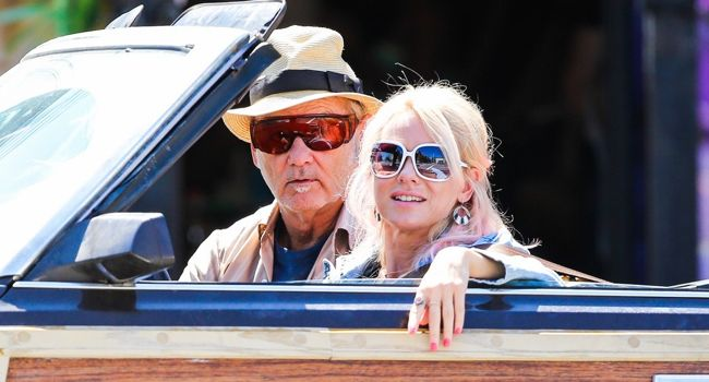 Naomi Watts and Bill Murray at the set of 'St Vincent de Van Nuy' **USA, Canada, Australia ONLY**