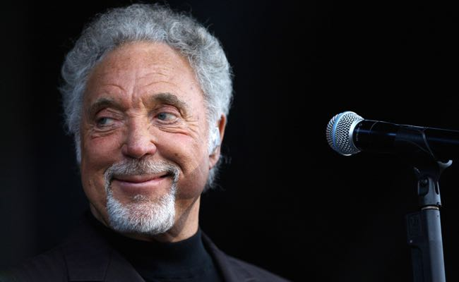 Tom Jones performance - Newbury